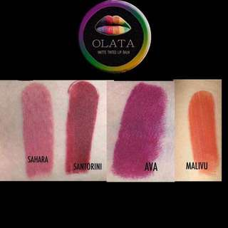 OLATA matted lip balm