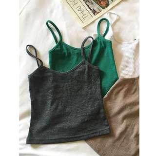 (Ready stock)Grey singlet top