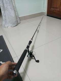 Clearance! Abu garcia fishing rod and shimano fishing reels