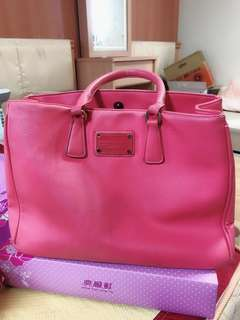 桃紅手提包
