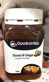 澳洲 Goodcombo 生姜蜂蜜  500g
