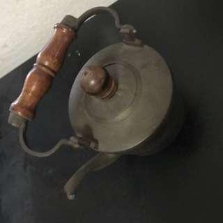 Antique cooper teapot