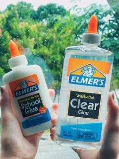 🚚 9oz Jumbo Elmer's Clear Glue (266ml)
