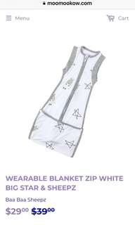 Swaddle Blanket with Zip