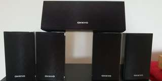 Onkyo speakers 5.0