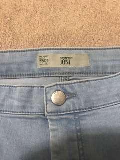 Topshop Joni Jeans Sz 26