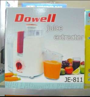 Dowell Juice Extractor