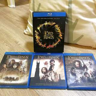 🚚 Lord of the Rings Trilogy Blu-Ray Movie