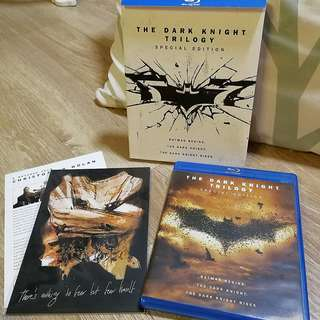 🚚 The Dark Knight Trilogy Special Edition Blu-ray Movie