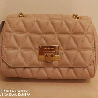 MK Shoulder Lap Leather