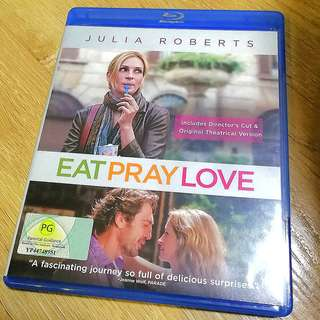 🚚 Eat Pray Love Blu-ray Movie