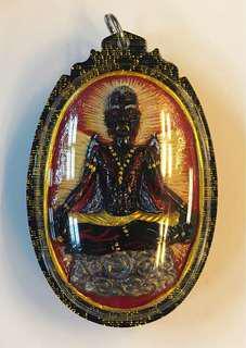 Archan tee lersi Pu Kai Kaew with Phra kring
