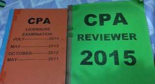 CPA Reviewer- actual questions: Accounting