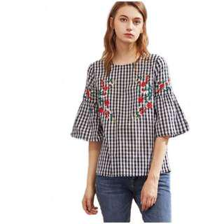 Bell Sleeves Blouse