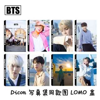 BTS LOMO CARDS 30 PCS