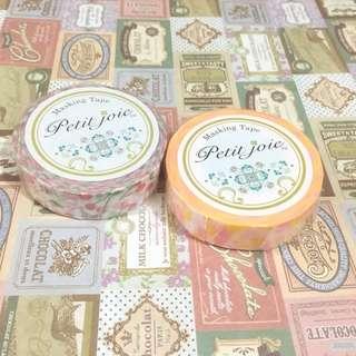 紙膠帶—Petit Joie 車厘子+金瓶糖 18米長