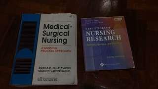 Nursing research textbooks