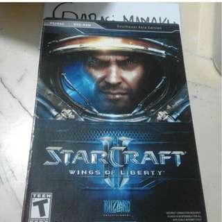 PC GAME ORIGINAL STARCRAFT WINGS OF LIBERTY