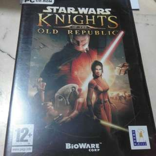 PC GAMES STAR WARS KNIGHTS OLD REPUBLIC ORIGINAL!