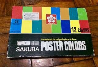 Sakura Poster Color