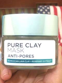 Preloved pure clay mask anti pores L'OREAL