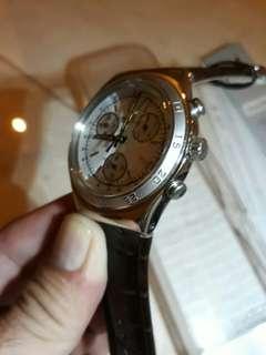 swatch chrono..irony..mulus n lengkap