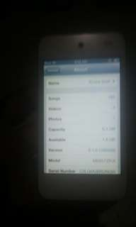 Ipod touch 4th gen 8g