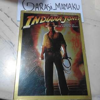 dvd original indina jones and the kingdom of the crystal skull