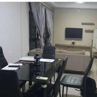 文庆 boon Keng , common room(aircond) 空调普通房 租$580