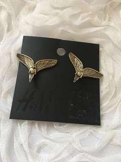 H&M Vintage Angel Earrings