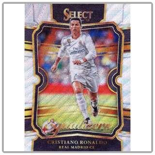 2017 Panini Select Soccer Cristiano Ronaldo Equalizers Refractor