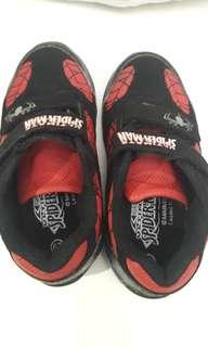 Sepatu anak laki-ultimate spiderman marvel