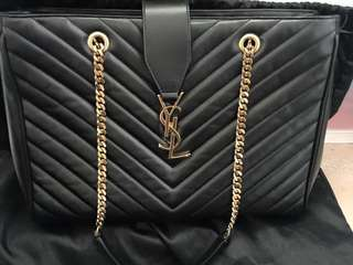 Ysl chain bag with original receipt , card and dust bag