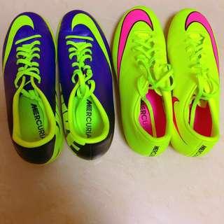 95%new Nike足球鞋 ball boots