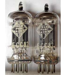 Vintage Pair Telefunken 12AU7 ECC82