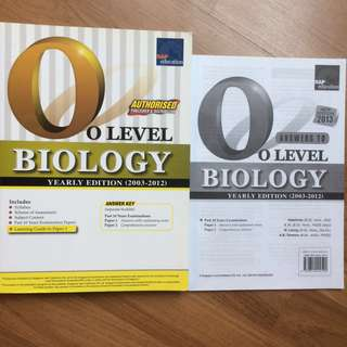 O level Biology Past years