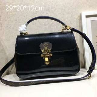 LV PATENT LEATHER BAG