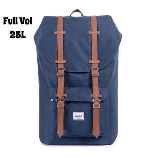 [INSTOCK] HERSCHEL SUPPLY LITTLE AMERICA FULL VOLUME BACKPACK (NAVY)
