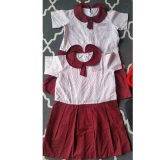 (2 pcs) REAL KIDS School Uniform RM 40. BY POST ONLY. POSTAGE RM 10.