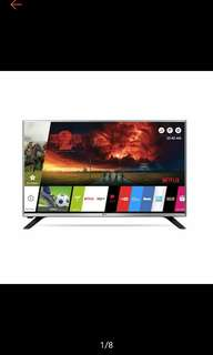 (Retail at $499) 32inch LG Smart LED TV