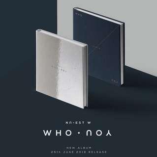 [PREORDER] NU'EST W - Who, You