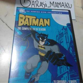 VCD DC COMICS KIDS COLLECTION THE BATMAN S5