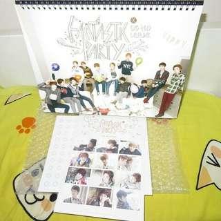 EXO 13SG 中國版枱曆