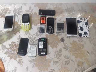 Old Phones (take all)