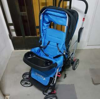 Joovy Ultralight twin stroller