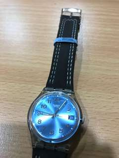 Swatch Blue Choco Unisex Watch