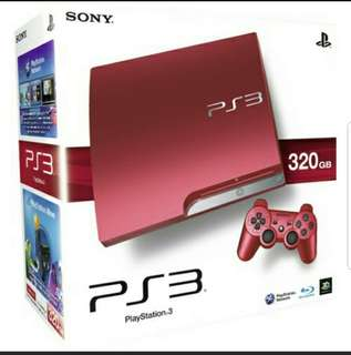 PS3 Slim (320GB) latest edition. Compact size.