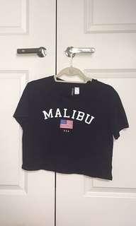 Malibu crop top