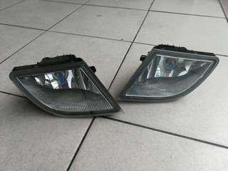 Myvi SE Fog Lamp with Philips White Bulbs