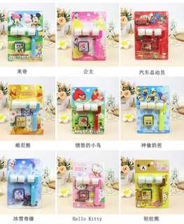 Children Cartoon Roller Stamps - Goodie Bag